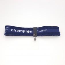 Bandeau Bleu Cache Oeil Champion